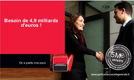 publicité Société Générale