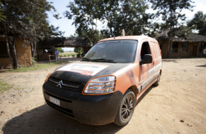 Citroën Berlingo de Mission Africa