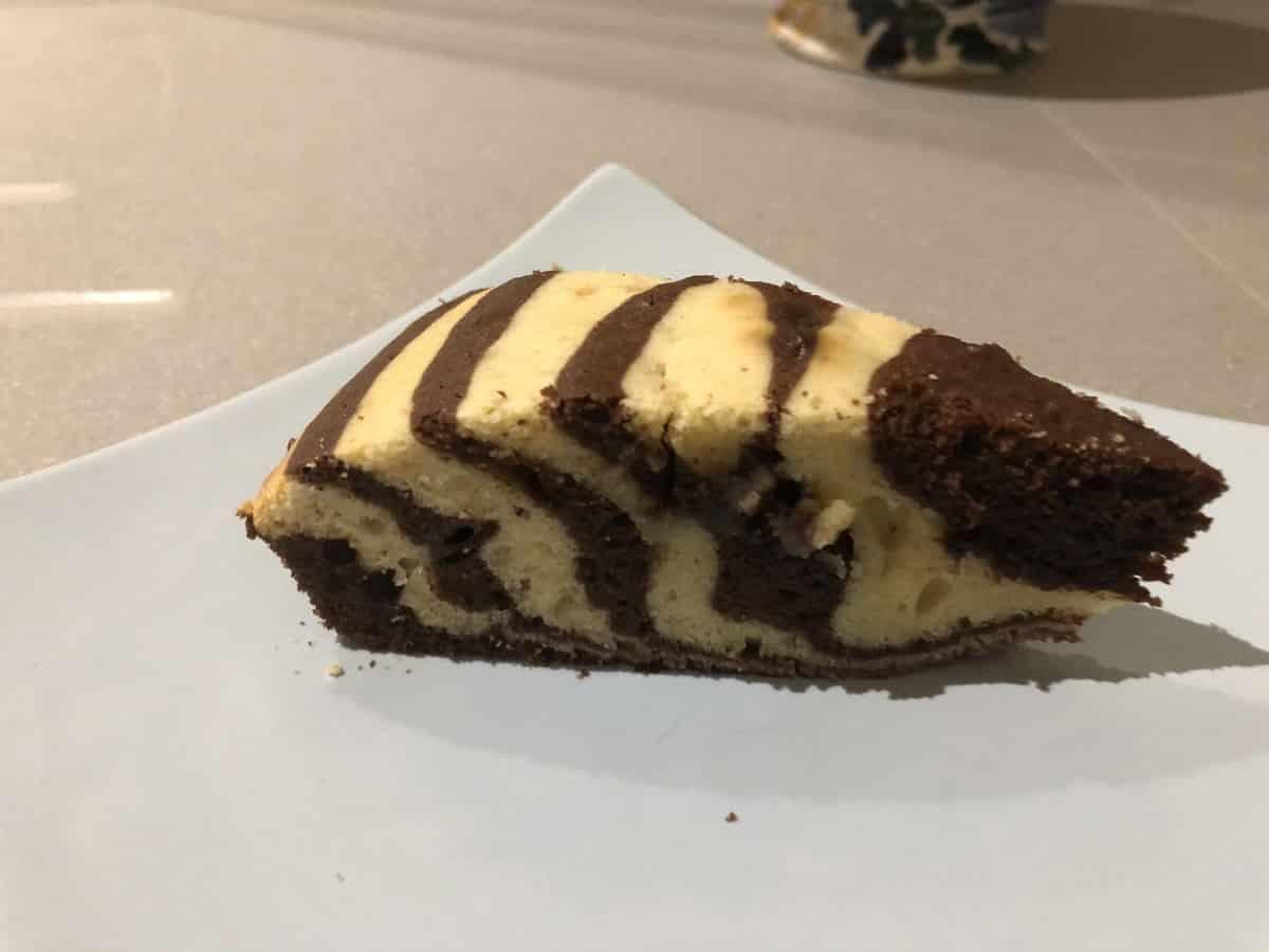 part de cake zebré thermomix