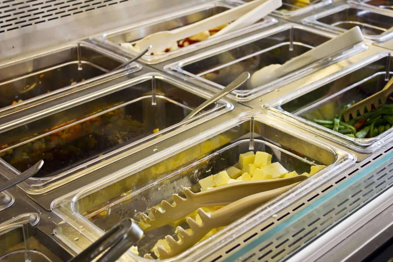 bac inox salad bar