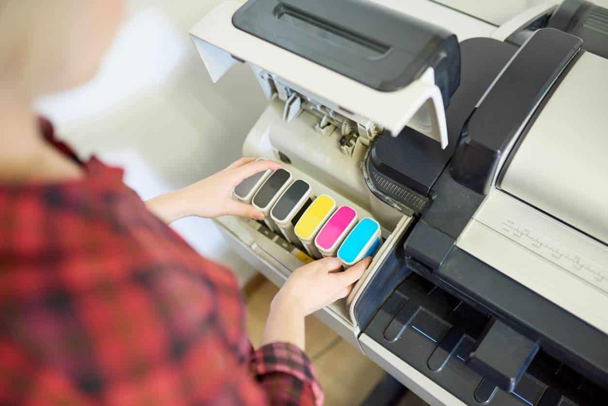 encre d'imprimante