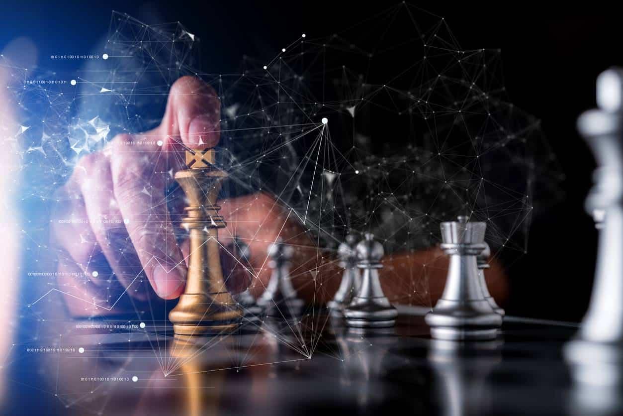 jeu des échecs business